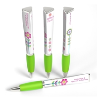 Light Green Custom Promotional Ad Pen by WithLogos