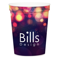 Custom Promotional 16 oz. Full Color Stadium Cup