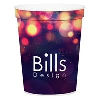 Custom Promotional 16 oz. Full Color Stadium Cup
