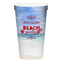Promotional Custom 22 oz. Full Color Stadium Cup