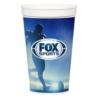 Custom Promotional 32 oz. Full Color Stadium Cup