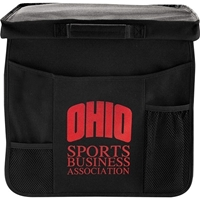 Custom Promotional Game Day Seat Cushion Open