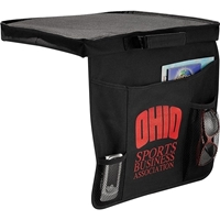 Custom Game Day Seat Cushion Side Open