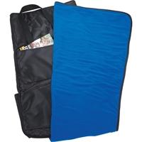 Promotional Deluxe Stadium Fleece Seat Cushion Blanket Open Blanket