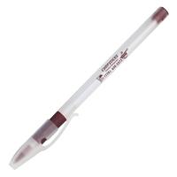 Custom Imprinted Burgundy Grip Stick Pen