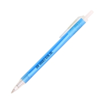 Custom Promotional Blue Amber Frost Pen