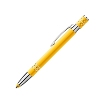 Custom Promotional Fiona Satin-Touch Stylus Pen in Yellow