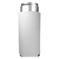 Promotional Custom 12 oz. Full Color Slim Kan-Tastic White