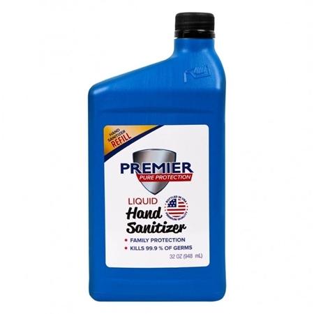 Premier Pure Hand Sanitizer 32 oz - Refill - Blue