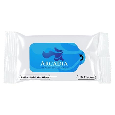 Custom Antibacterial Sanitizer Wet Wipes