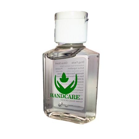 Custom Printed 1 oz Gel Hand Sanitizer