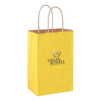 Imprinted Twisted Paper Shopping Bags