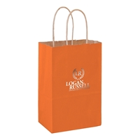 Imprinted Matte Twisted Paper handle bags