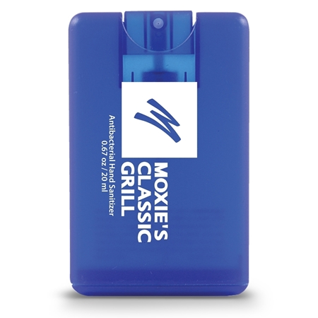 Promotional Credit Card Style Antibacterial Hand Sanitizer Spray