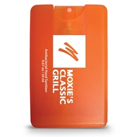 Custom Printed Credit Card Style Antibacterial Hand Sanitizer Spray