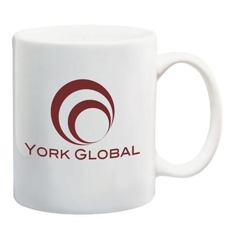 Promotional WHITE CERAMIC MUG