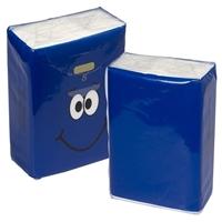 Customized MINI TISSUE PACKET -Blue