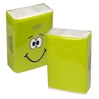 Customizable MINI TISSUE PACKET -Green