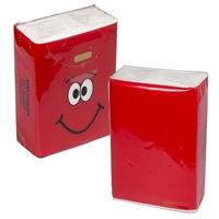 Branded MINI TISSUE PACKET -Red