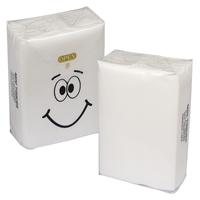 Personalized MINI TISSUE PACKET -White