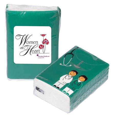 Custom Printed Doctor and Nurse Tissue Packs