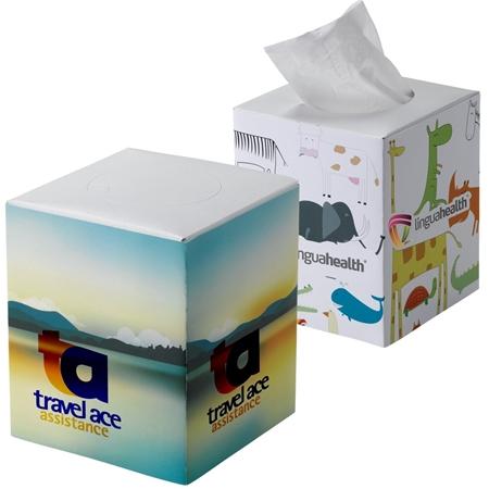 Personalized Cube Tissue Box