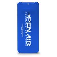 Blue Custom Mini Credit Card Sanitizer with Logo