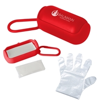 Promotional Disposable Gloves In Carrying Case