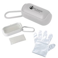 Personalized Disposable Gloves In Carrying Case