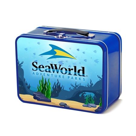Personalized Retro Lunch Box