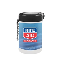 Custom Antibacterial Wet Wipes in a Canister