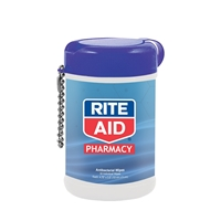 Customized Antibacterial Wet Wipes in a Canister