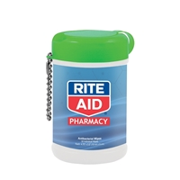 Personalized Antibacterial Wet Wipes in a Canister