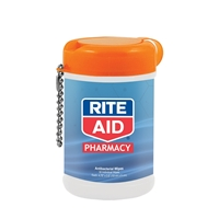 Promotional Antibacterial Wet Wipes in a Canister