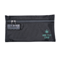 Branded Smell Proof Stash Bag with Combination Lock