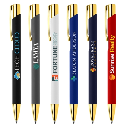 Custom Crosby Gold Softy Pen
