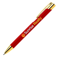 Branded Crosby Gold Softy Pen