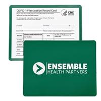 Branded Vaccine Card Holder