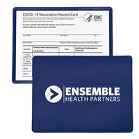 Imprinted Vaccine Card Holder