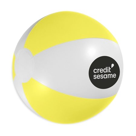 """12"""" Beach Ball imprinted with your Logo"""
