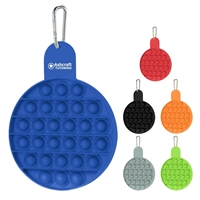 Personalized Push Pop Circle Stress Reliever Game