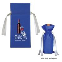 Custom Wine Bottle Non-Woven Gift Bag