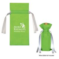 Branded Wine Bottle Non-Woven Gift Bag