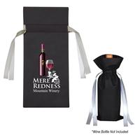 Promotional Wine Bottle Non-Woven Gift Bag