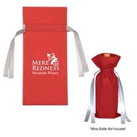 Imprinted Wine Bottle Non-Woven Gift Bag