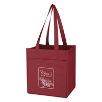 Promotional Non-Woven 6 Bottle Wine Tote Bag