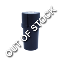 Promotional Custom Direct Printed Black Plastic Grinder & Storage Container