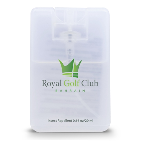 Promotional Credit Card Natural Insect Repellent Spray