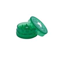 Green Promotional Custom Plastic Grinder