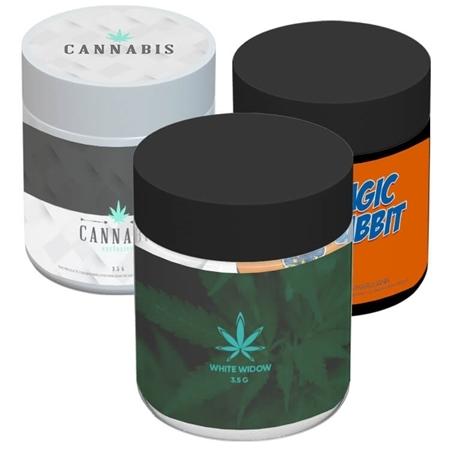 Custom Printed Cannabis Jar – 3 Oz